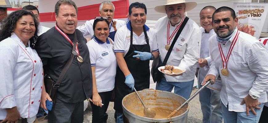 VII Festival Del Chancho al Palo con Récord de Asistencia