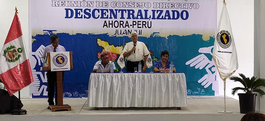 Descentralizado de Ahora en la Ciudad de Juanjuí