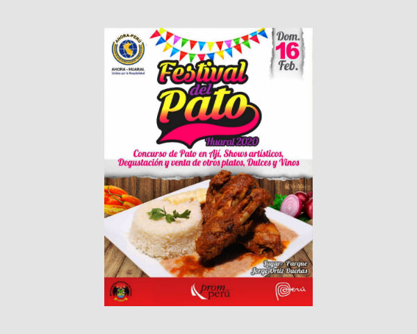 Huaral Celebra el Día del Pato en Ají el 16 de febrero