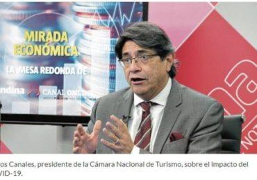 CANATUR: Al menos 50 mil Empresas del Sector Turismo Cerraron por Pandemia