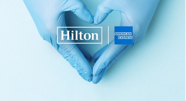 Hilton y American Express Donan 1 Millón de Noches de Hotel a Médicos que Luchan contra Covid-19