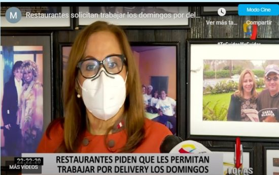 Desde hoy los Restaurantes Podrán Reabrir con Atención al Público (RPP)