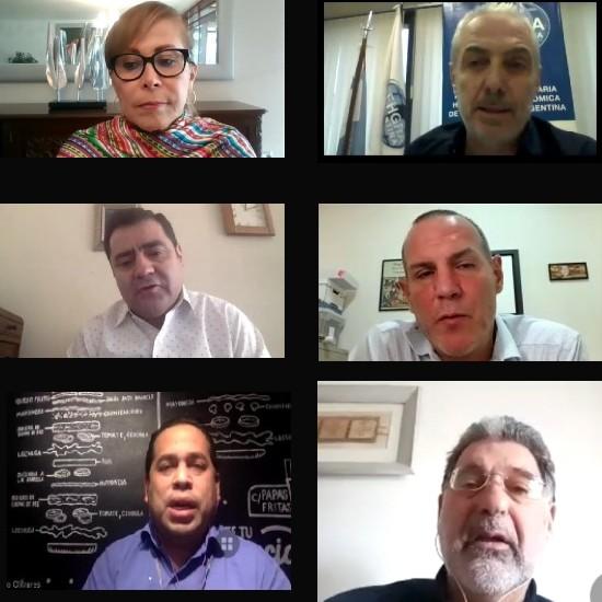 Asociaciones de Gastronomía Coincidieron en Formar Representación Latinoamericana