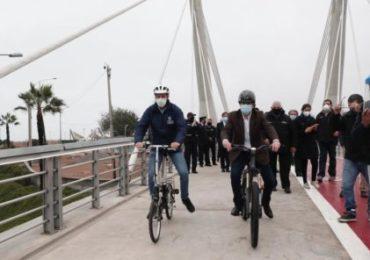 Turismo: Inauguran Puente de la Amistad que une Miraflores y San Isidro