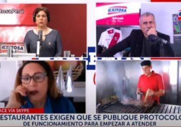 AHORA Perú Pide al Presidente Vizcarra Autorice a Restaurantes Atención en Salón (Exitosa TV)