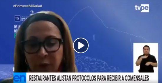 Restaurantes Alistan Protocolos para Atención en Salón (TvPerú)