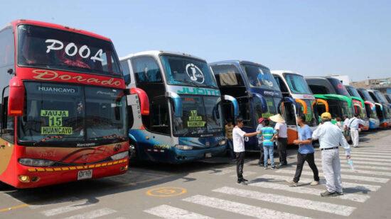 Viajes Interprovinciales a Regiones en Cuarentena se Suspenden