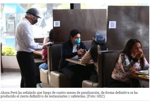 Restaurantes: ¿qué dicen sobre la medida de inmovilización social obligatoria durante los domingos? (El Comercio)