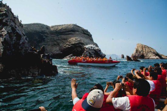 """Paracas Será el Atractivo """"ancla"""" que Impulsará Reactivación del Turismo Interno Asegura Ministra Barrios"""