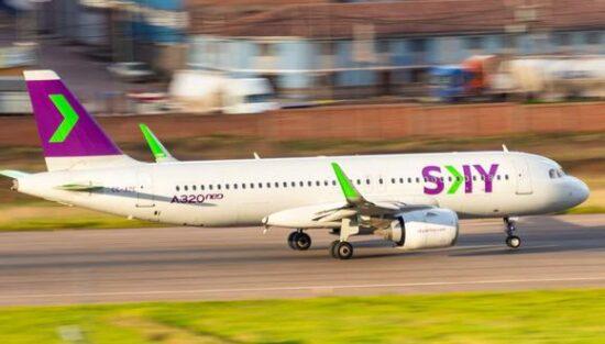 Sky Airlines Volará a Perú y Brasil en Octubre