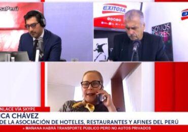 Presidenta de AHORA Perú Solicita Autorización de Circulación de Vehículos Particulares los Domingos