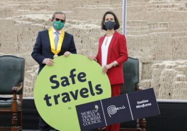 Sello de Safe Travels para Empresas de Turismo de Miraflores