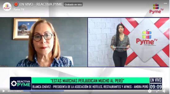 Blanca Chávez: Protestas en el Sur y Norte Afectan la Economía del País