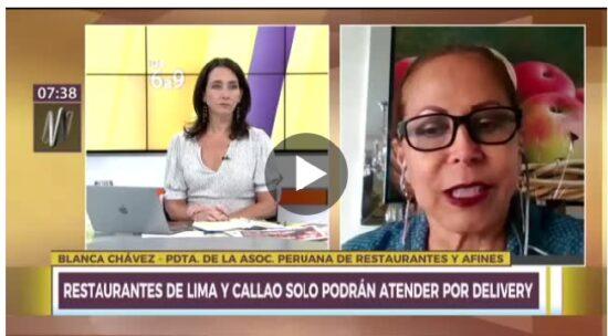 Cuarentena en Lima: Asociación de Restaurantes pide Apoyo de Reactiva Perú y Exoneración de IGV (Canal N)