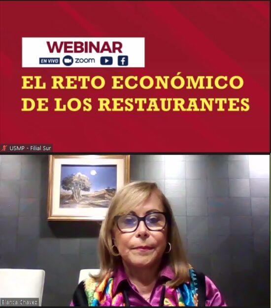 Blanca Chávez: Quieren Aburrir a los Restaurantes