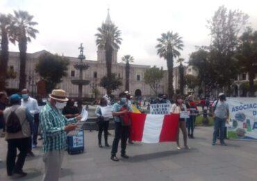Guías de Turismo Reemplazados por Orientadores Protestan en Arequipa