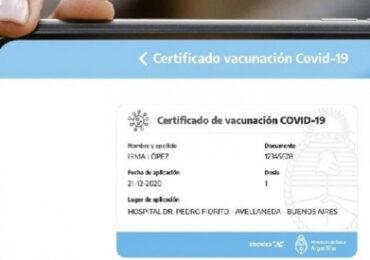 Argentina Prepara su Propio Pasaporte Sanitario