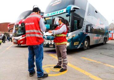 Transporte Interprovincial Puede Operar con el 100% de Aforo a Nivel Nacional